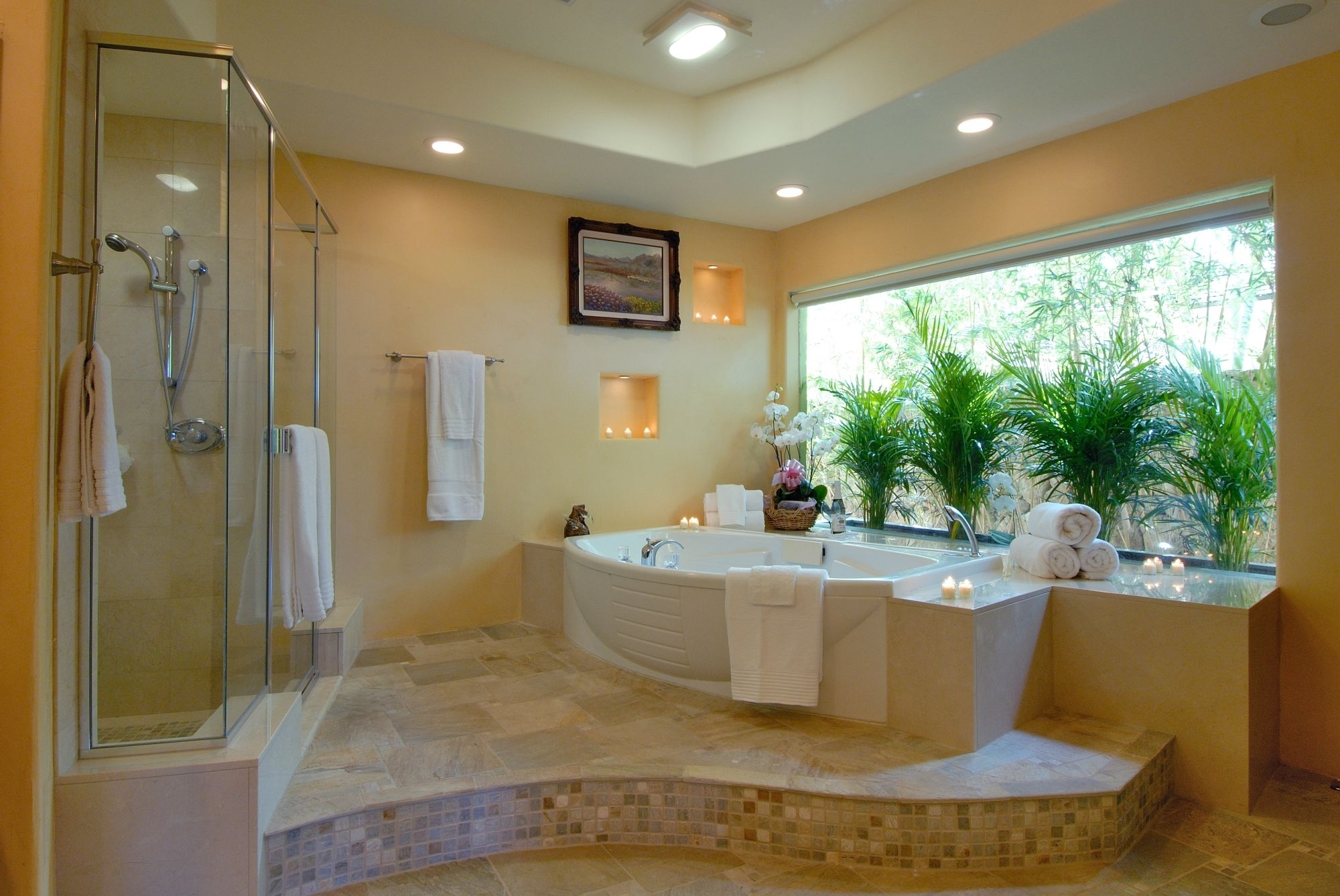 Luxury Bathroom Design With Natural Nuance (Image 4 of 8)