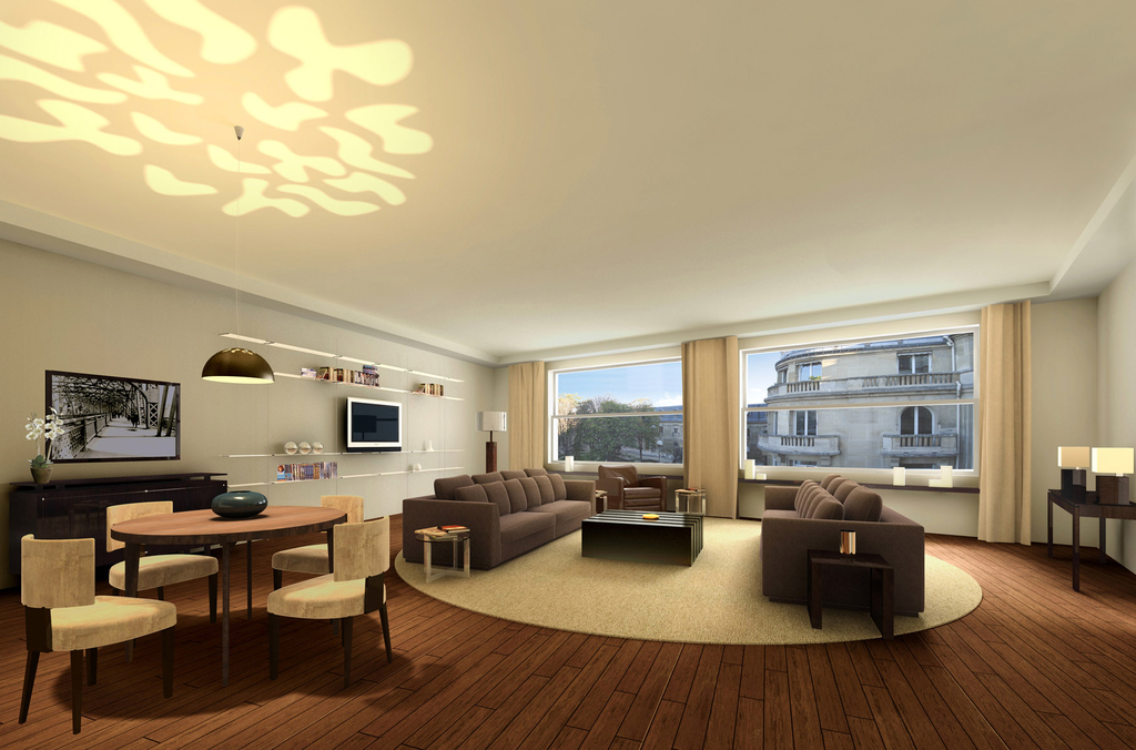 Luxury Large Apartment Design (Image 15 of 21)