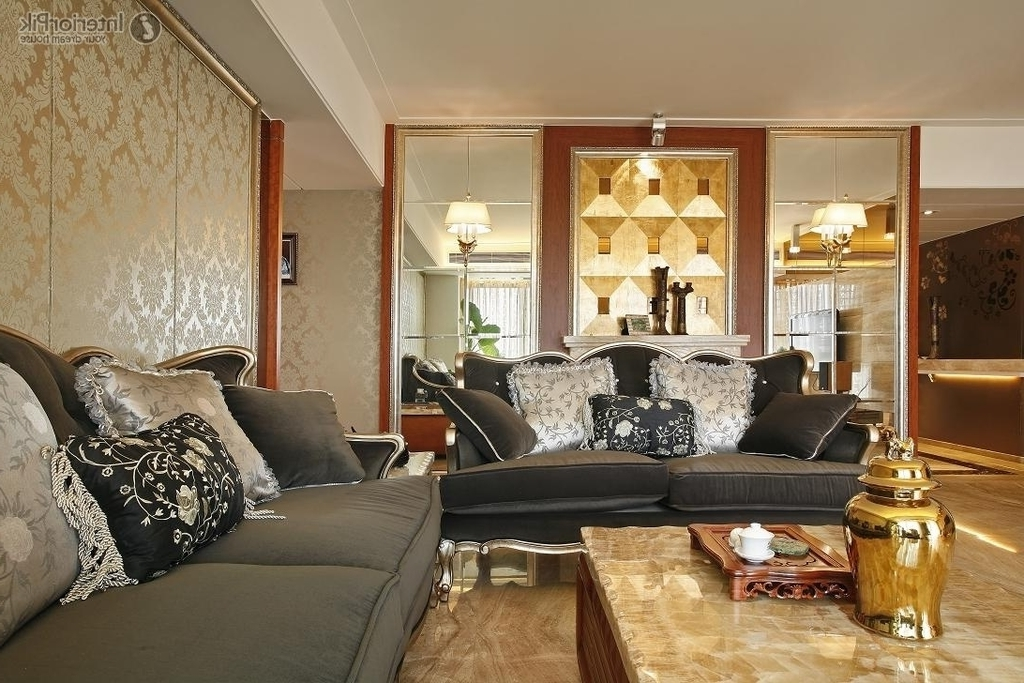 Luxury Living Room And Dining Room Divider (Image 10 of 16)