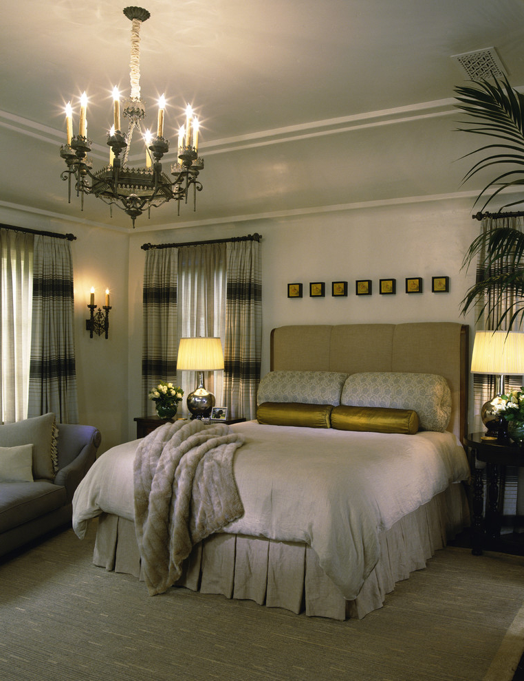 Mediterranean Classy Bedroom Interior (View 5 of 8)