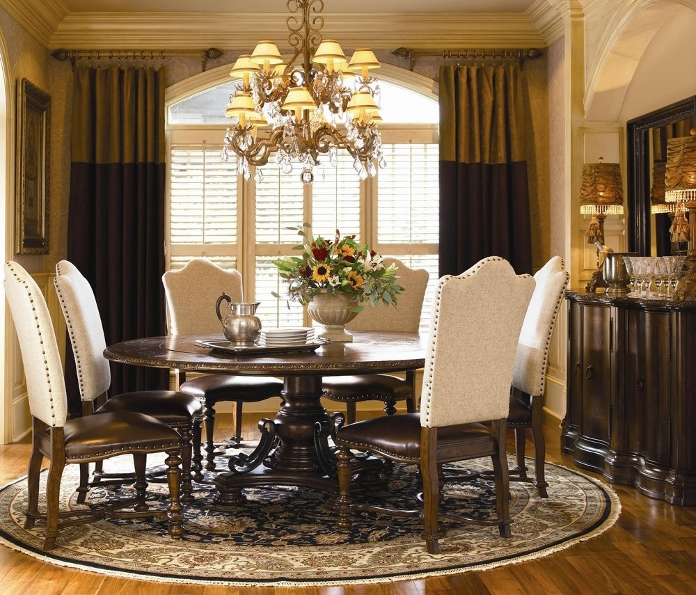 Round Formal Dining Room Tables: Mexican Dining Room Interior Design For Your Inspirations