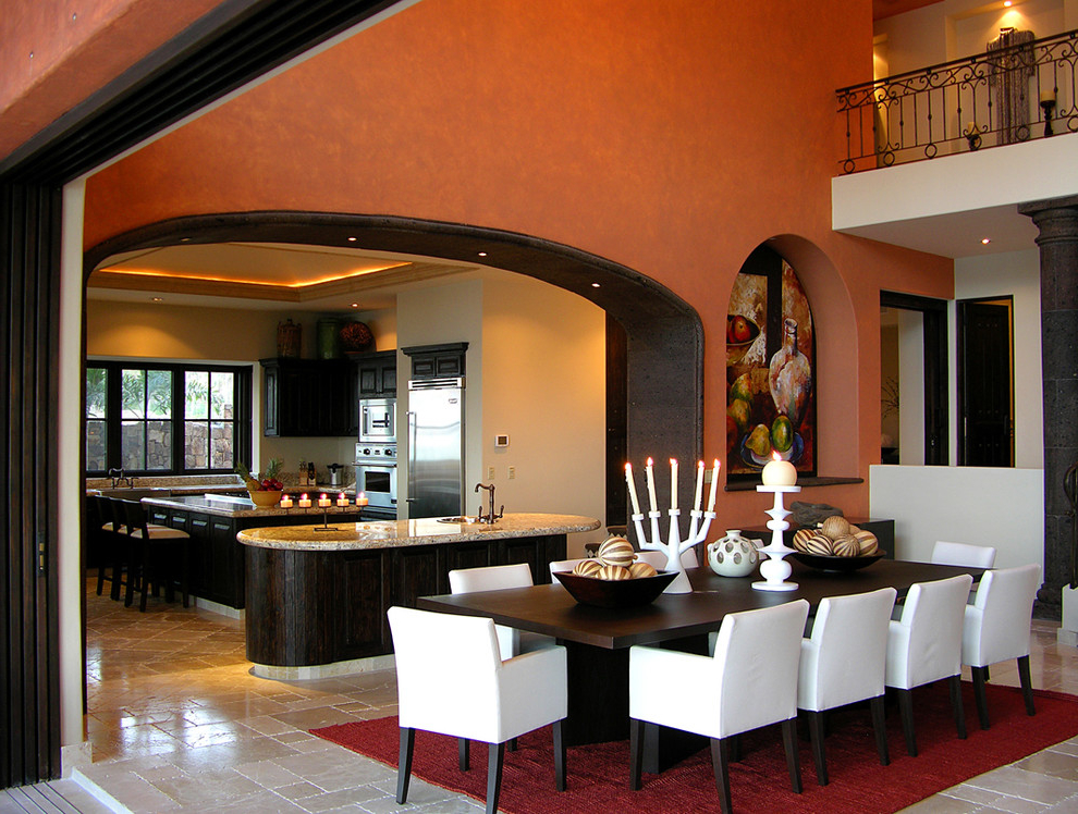 Mexican Dining Room In Formal Design (Image 3 of 7)