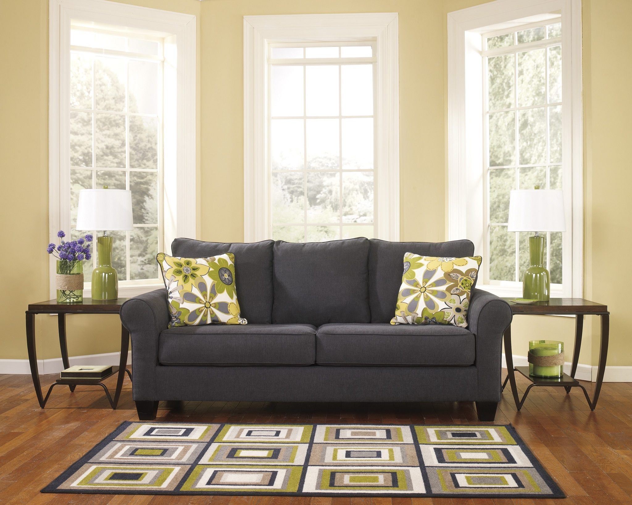 Contemporary Fabric Living Room Furniture 945 Living