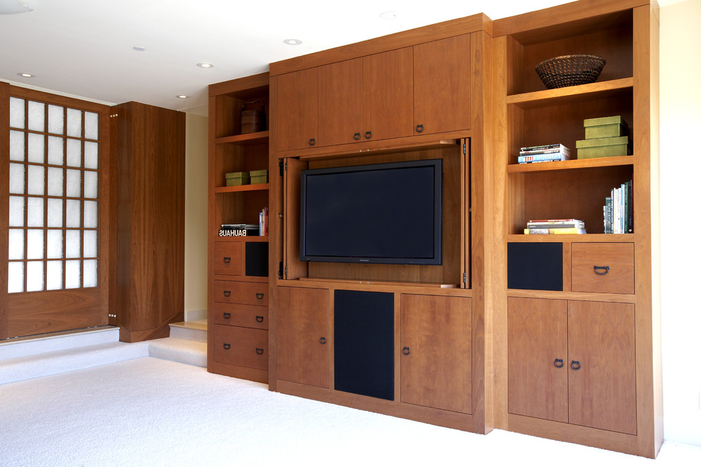 Minimalist TV Cabinet For Living Room (Image 6 of 8)