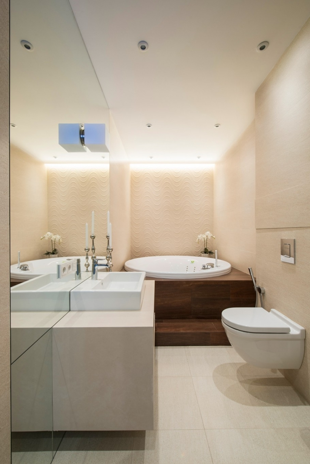 Modern 6×8 Bathroom For Luxurious Nuance (View 7 of 12)
