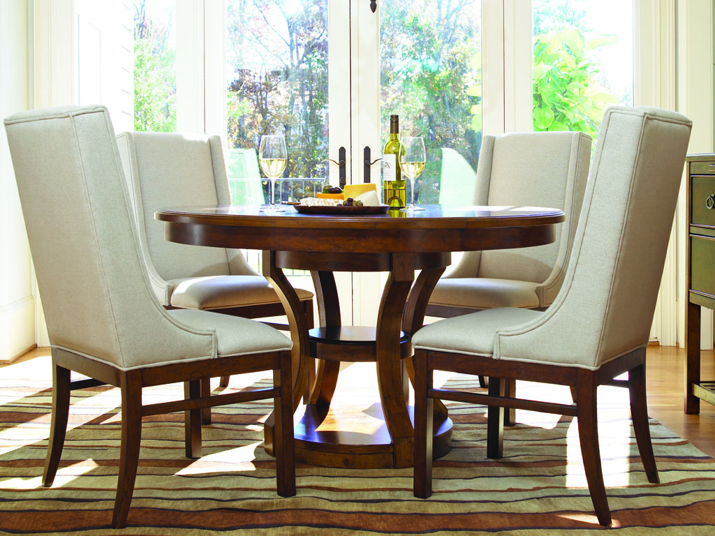 Modern China Dining Room Table And Chairs Set (Image 7 of 10)