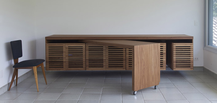 Modern Folding Table Desk (Image 13 of 20)