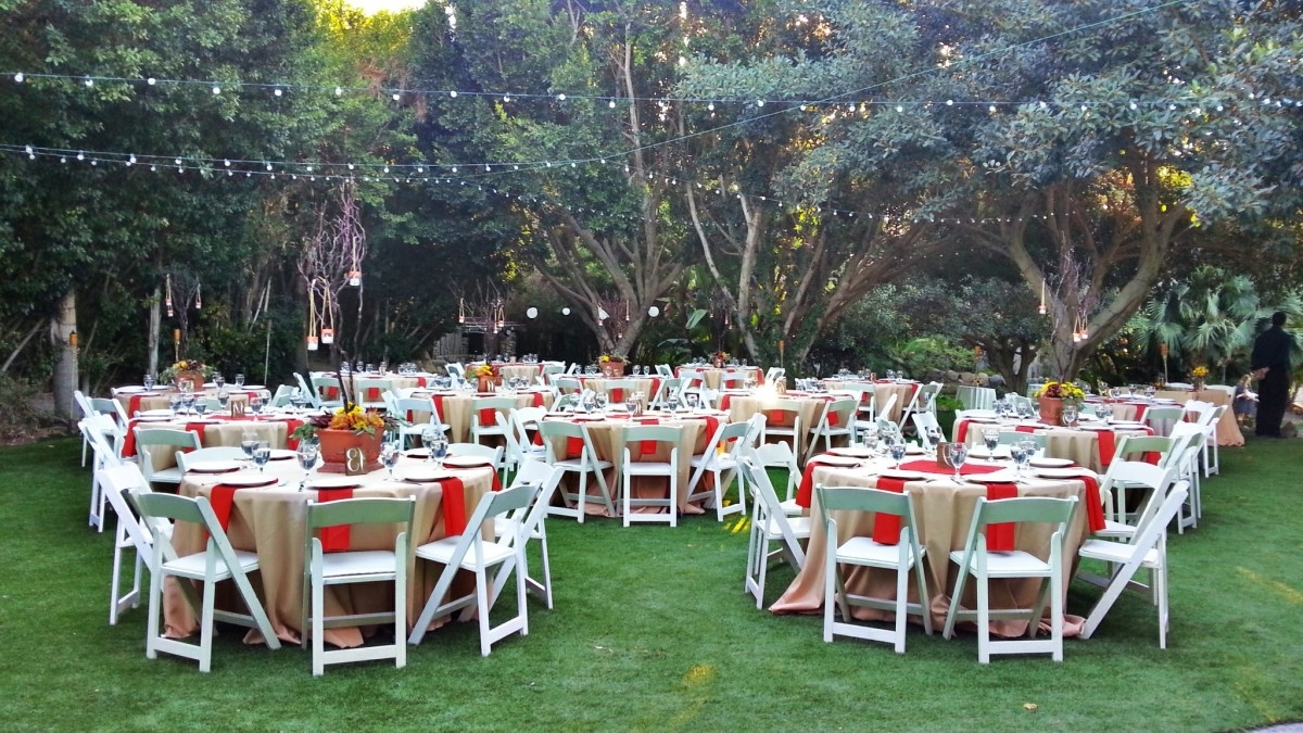 Modern Garden Wedding Reception Ideas (Image 3 of 8)