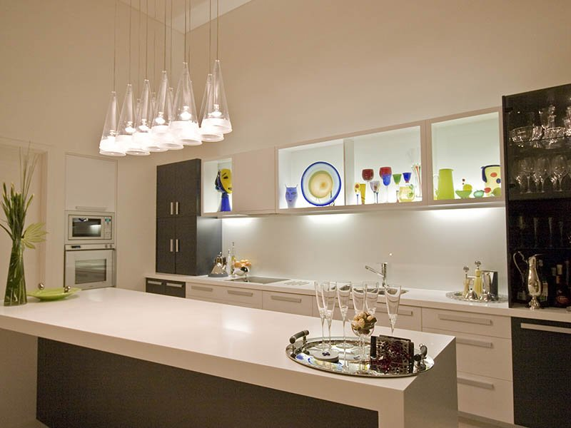 Modern Kitchen Lighting Design (Image 12 of 12)