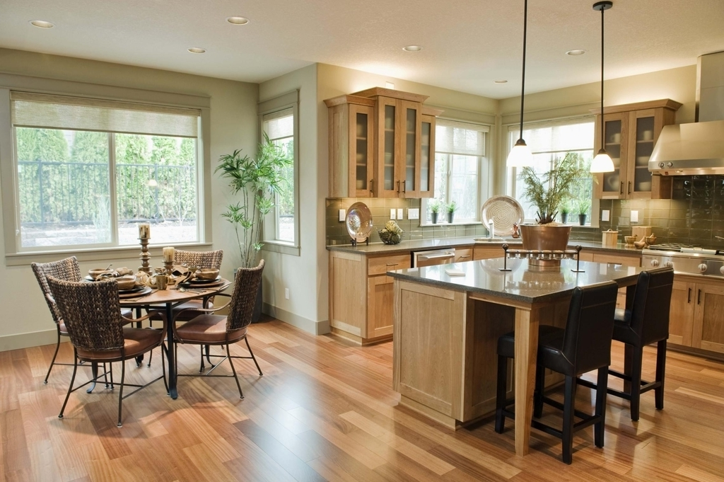 Beau Open Kitchen With Dining Room Combo Ideas (Image 10 Of 13)