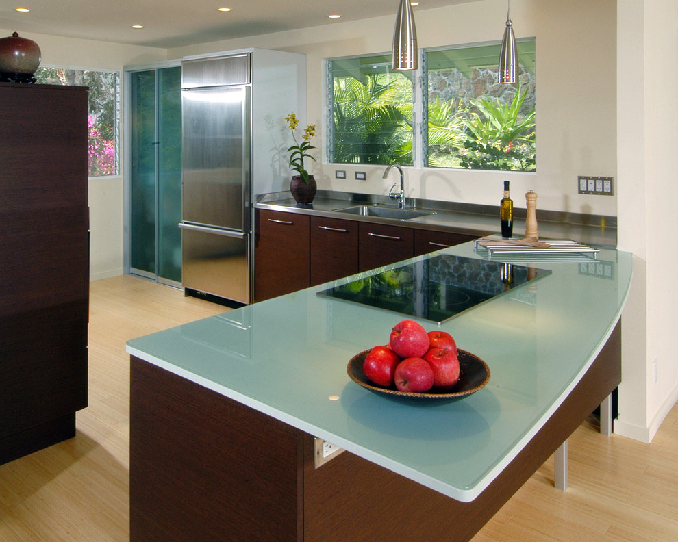 Perfect Glass Top Kitchen Table For Modern Kitchen (Image 6 of 6)