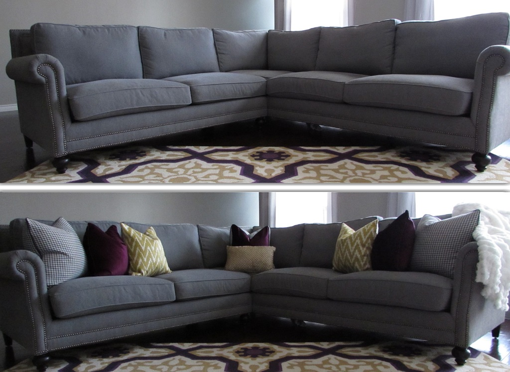Pillows Decor For Couch Ideas Before And After (Image 16 of 20)