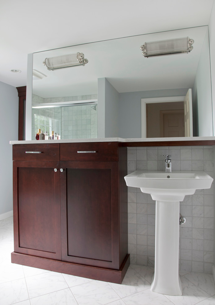 Popular Bathroom Vanity With Granite Counter Top (View 3 of 5)