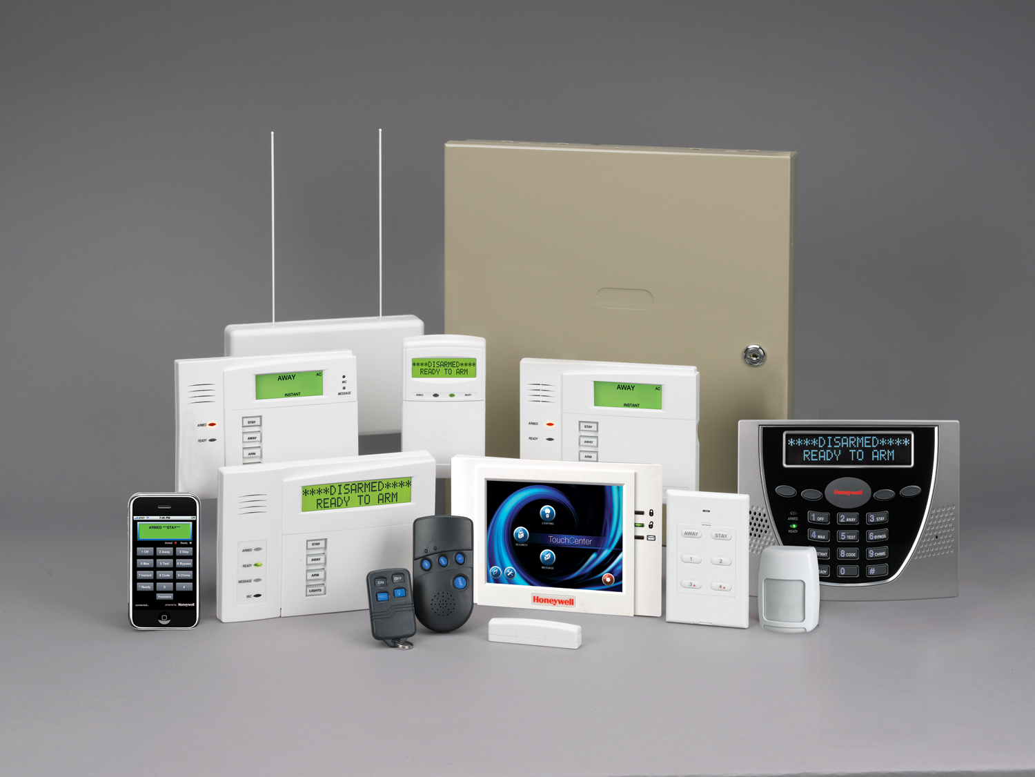 Popular Home Security And Alarm System (Image 5 of 6)