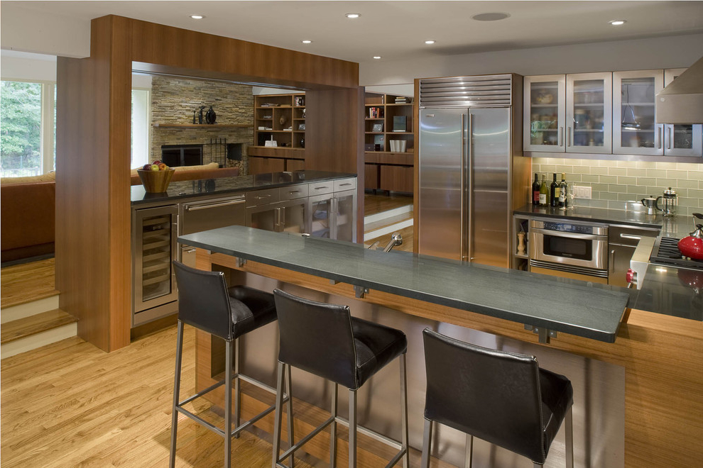Featured Image of Contemporary Kitchen Bar Design