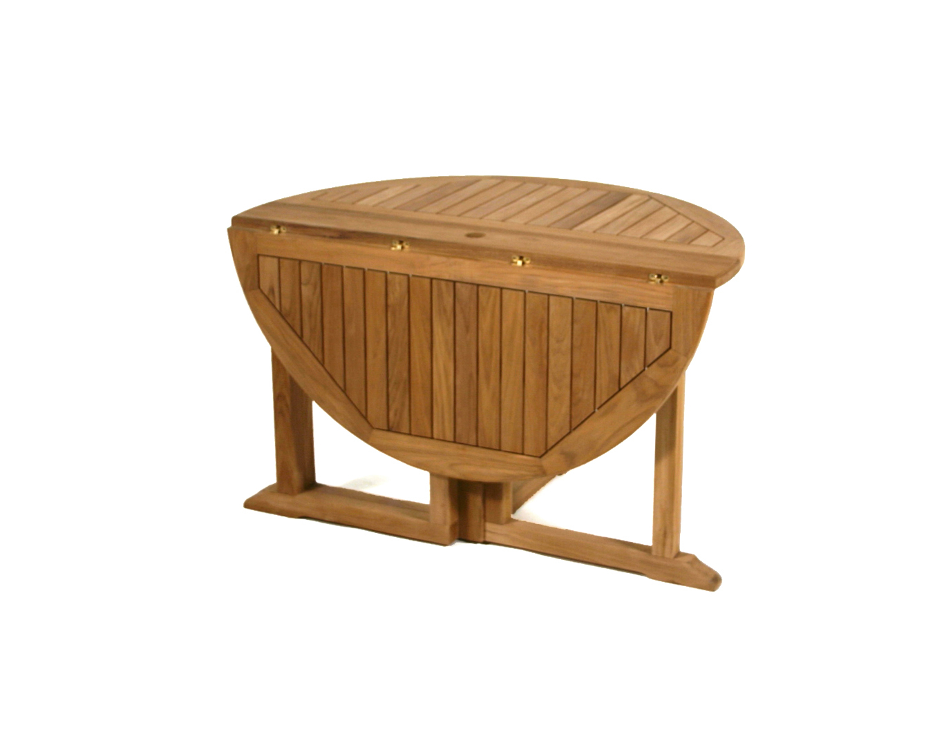 Round Wooden Folding Tables (Image 16 of 20)