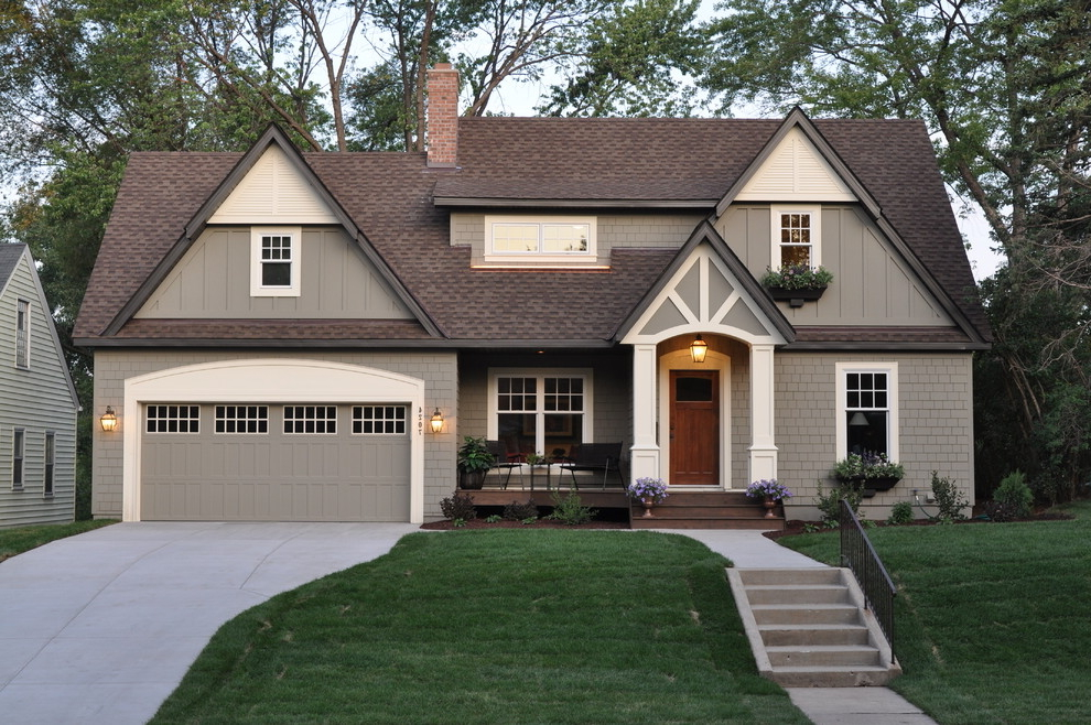 Simple House Exterior Paint Colour (Image 8 of 12)