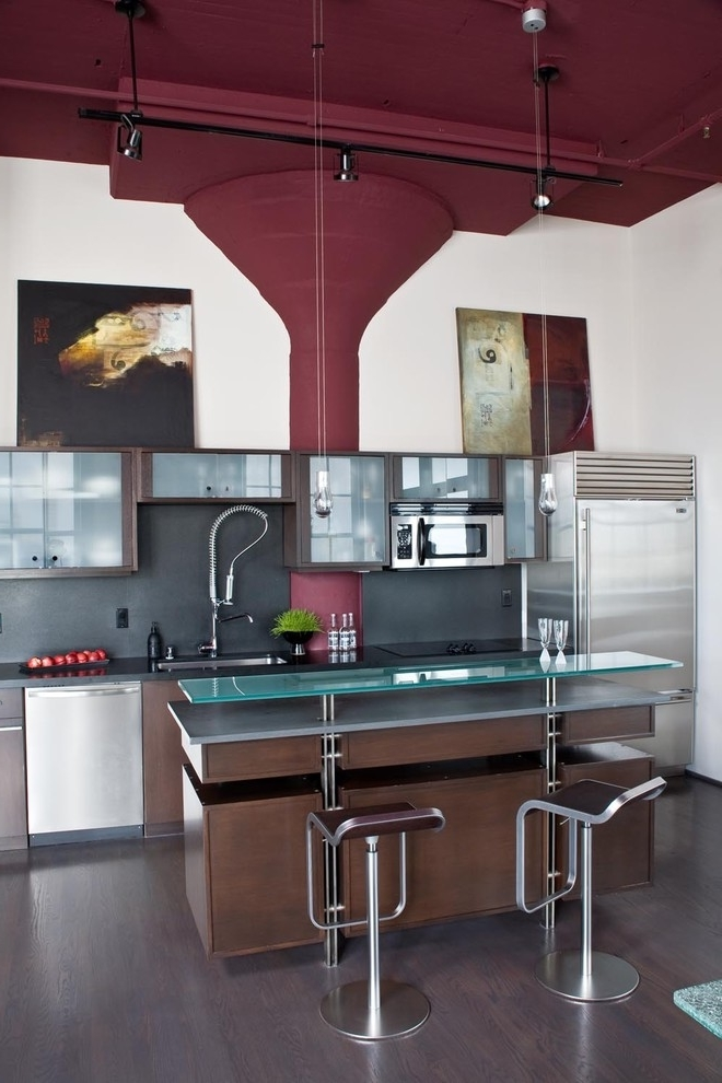 Simple Minimalist Contemporary Kitchen Design (Image 7 of 8)