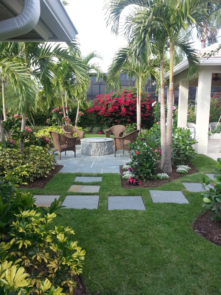 Tropical Backyard Ideas For Beautiful View #507 | House ...
