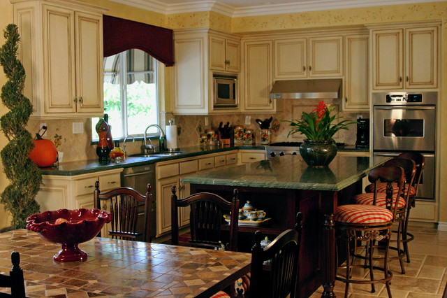 Tuscan Kitchen Interior Design 1215