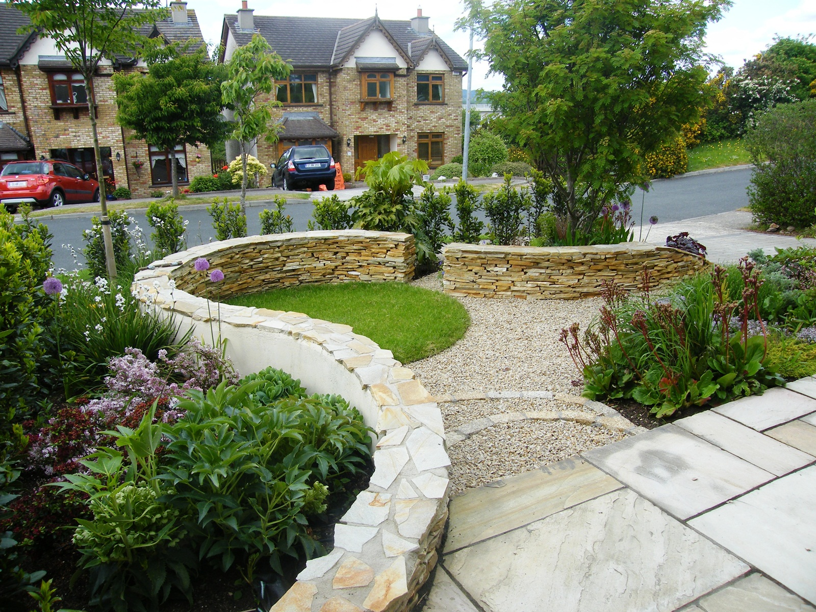 Stone Garden Design (Photo 8 of 9)