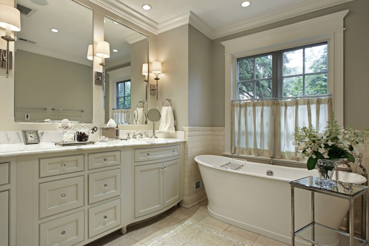 Traditional Bathroom Transform To Luxurious Look (Image 8 of 8)