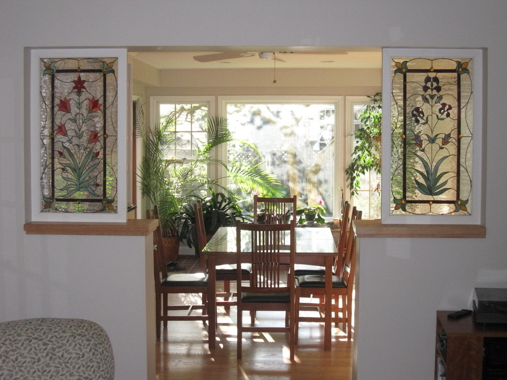 Traditional Living Room And Dining Room Divider (Image 14 of 16)