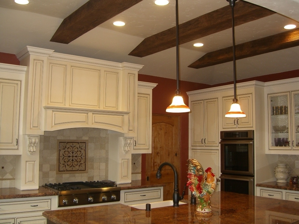 Traditional New York City Kitchen Lighting And Renovation (Image 15 of 16)