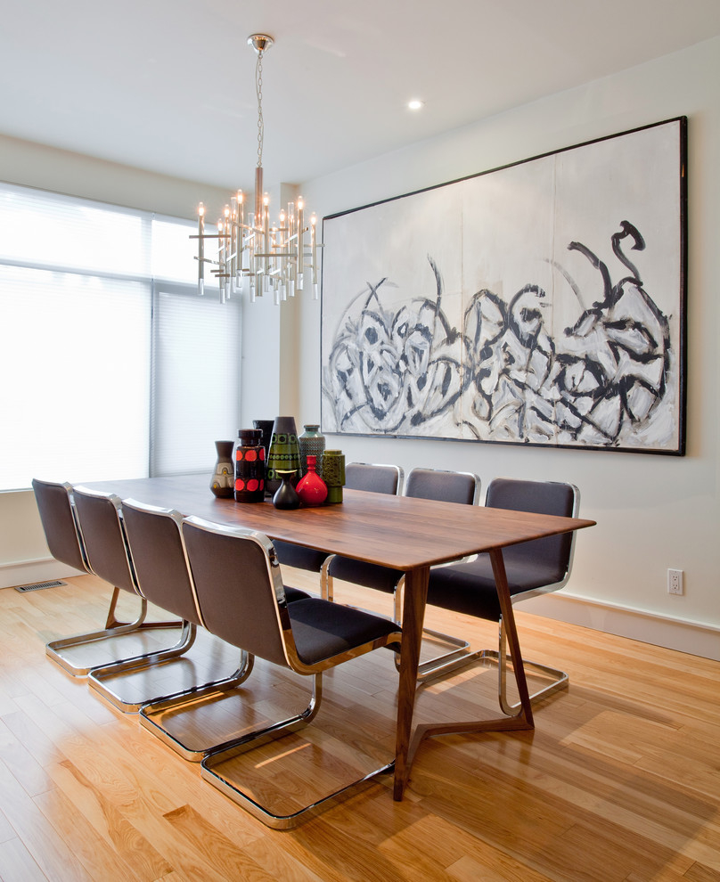Trendy Formal Dining Room Design (View 5 of 30)