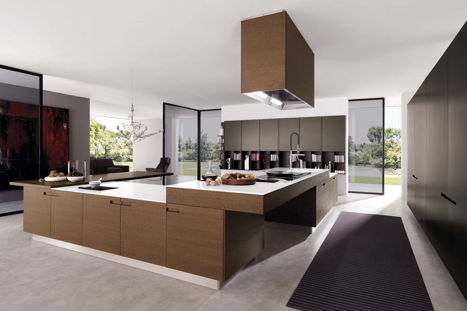 Modern Contemporary Kitchen Modern Contemporary Kitchen Cooking Table 1213 House Decoration