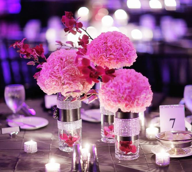 Wedding Centerpiece Table Arrangement Ideas Pomander Centerpieces (Image 12 of 15)