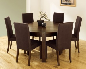 Wooden Round Table Dining Room China Furniture