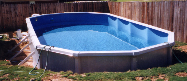 Above Ground Swimming Pool (Image 2 of 10)