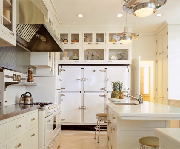 Adorable Antique Kitchen Cabinets (Image 1 of 10)