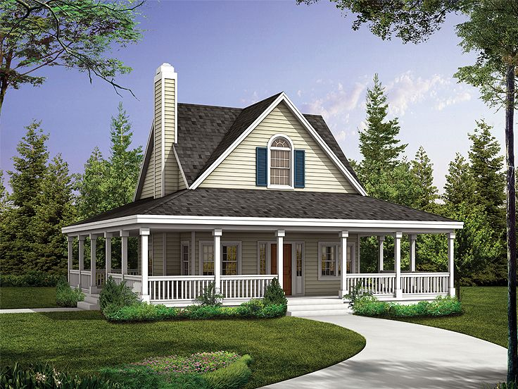 Affordable Country House Plans (Image 1 of 10)