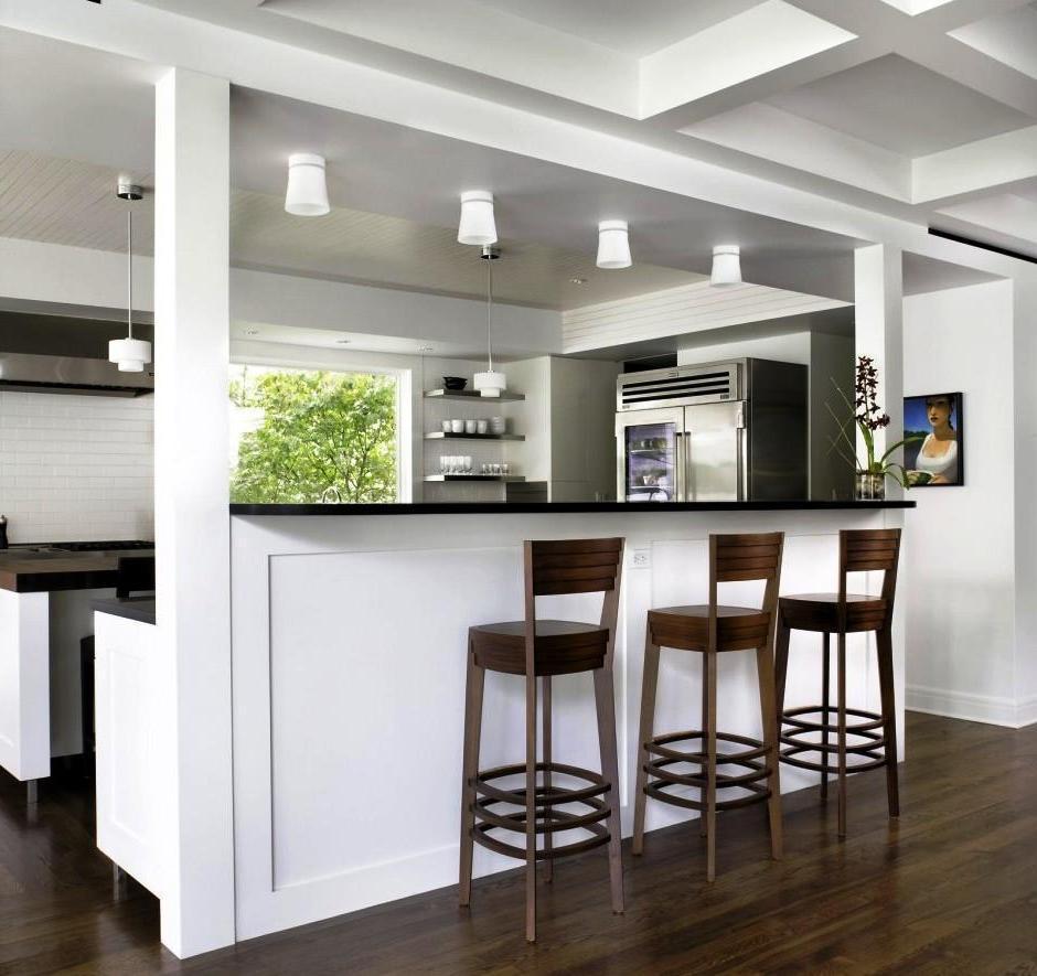 Amazing Kitchen And Breakfast Bar Lighting (Photo 1 of 10)