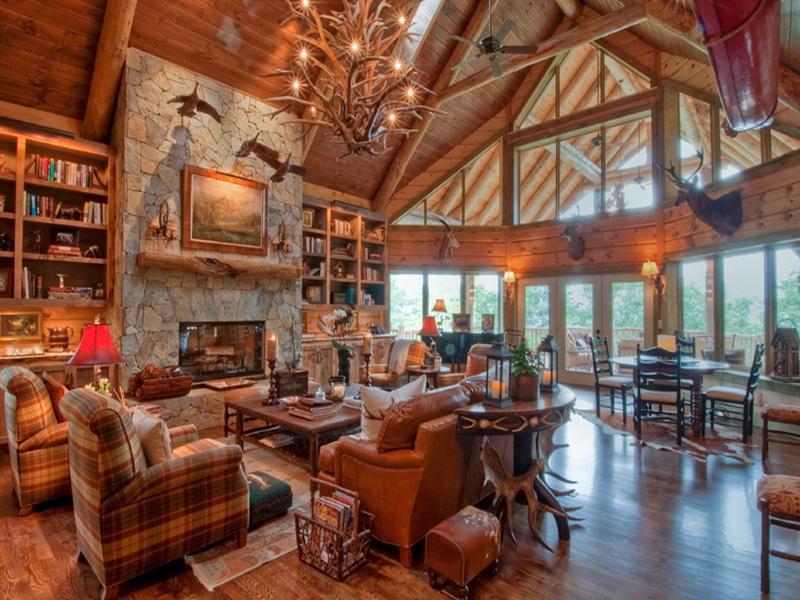 Amazing Rustic Cabin Decor Ideas (Image 1 of 10)