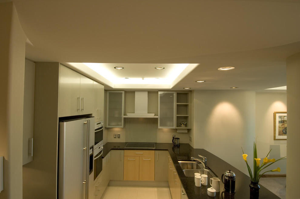 Apartment Kitchen Ceiling LED Lighting (Image 2 of 10)