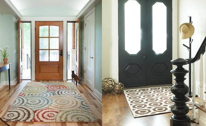 Foyer Area Rugs Ideas : What you have to think before choose a rugs