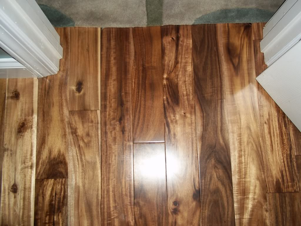 Asian Walnut Hardwood Flooring (Image 1 of 10)