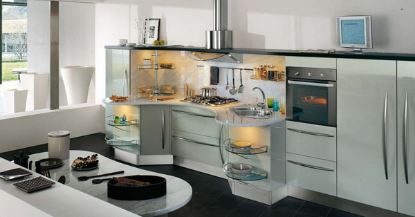 Awesome Contemporary Kitchens (Image 1 of 10)