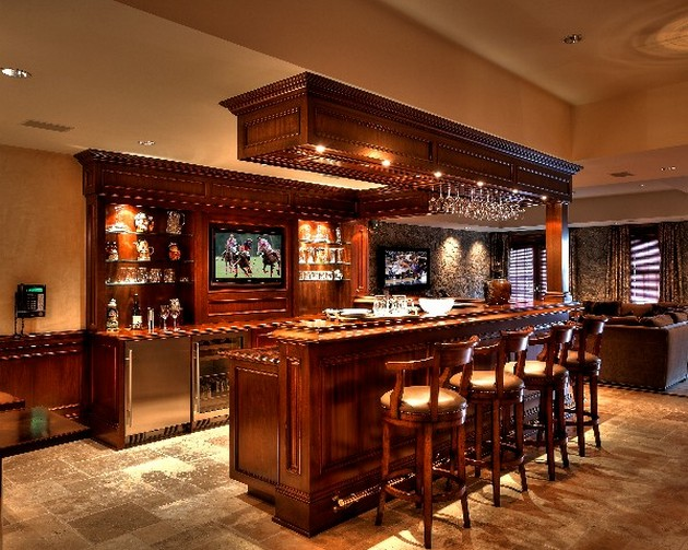 Awesome Home Bar Design (Image 1 of 10)