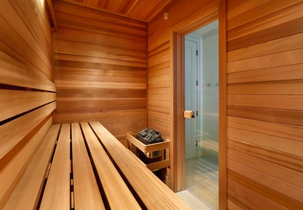 Awesome Home Sauna (Image 1 of 10)