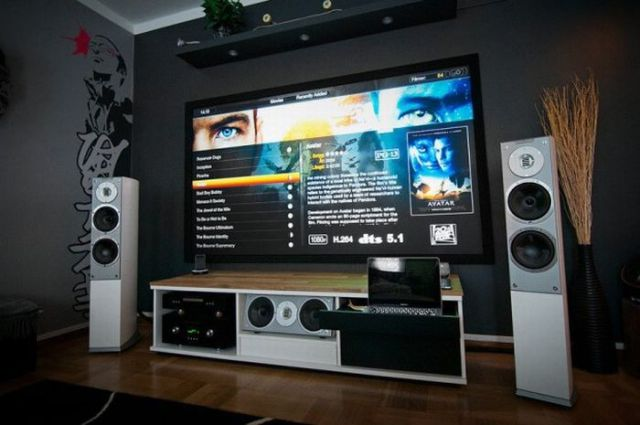 Awesome Home Theatre Design (Image 1 of 10)
