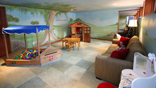 Awesome Playroom Decoration (View 7 of 10)