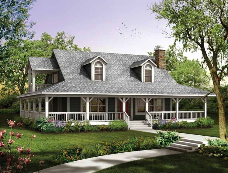 Beautiful Farmhouse Design (View 9 of 10)