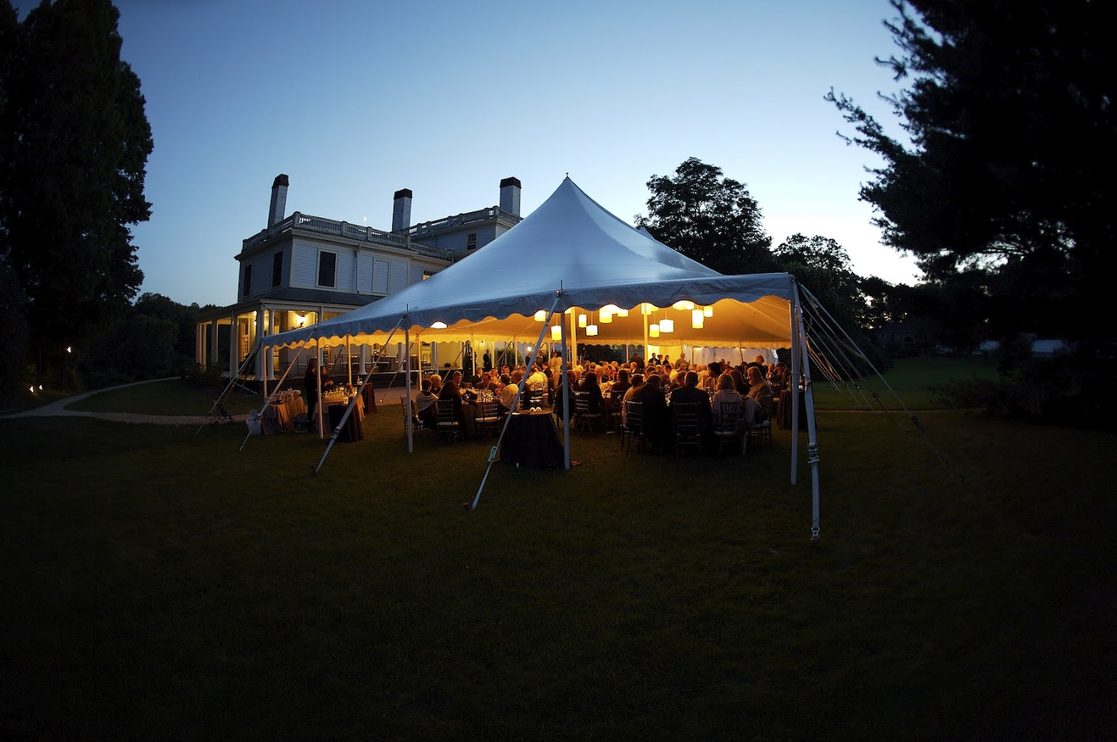 Backyard Wedding Receptions (Image 2 of 10)