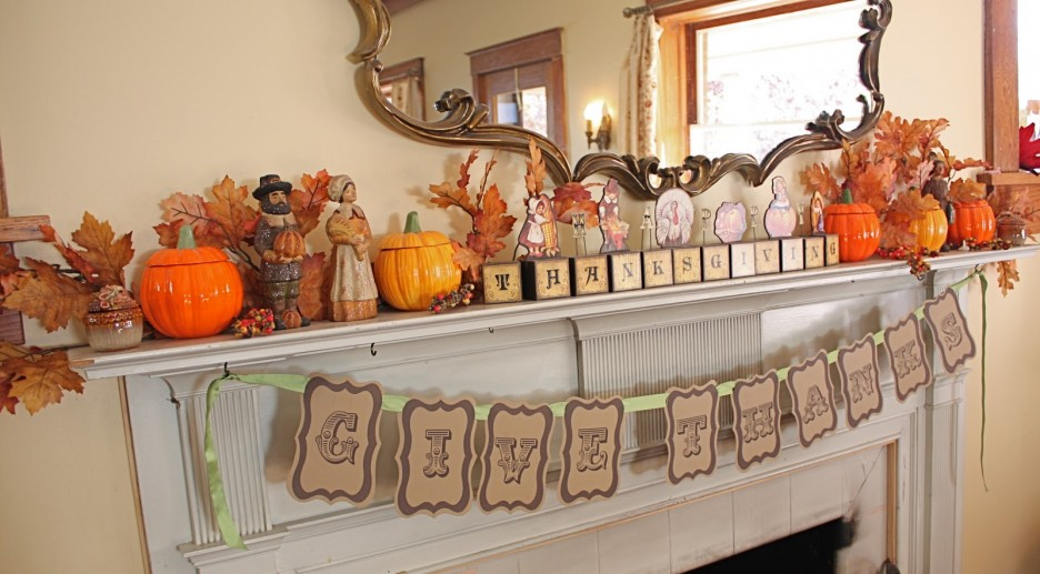 You Can Also Create Fresh Ideas To Thanksgiving Day By Add Halloween  Pumpkins, Use Pumpkins That Generally For Hallowen Decoration And Décor It  To Be More ...