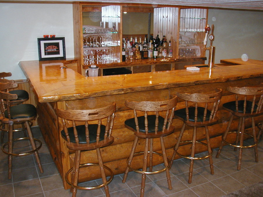Basement Bar Ideas Elegant Style And Stylist (Image 3 of 10)
