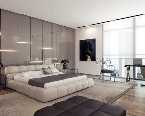 Beauty Modern Apartment Bedroom